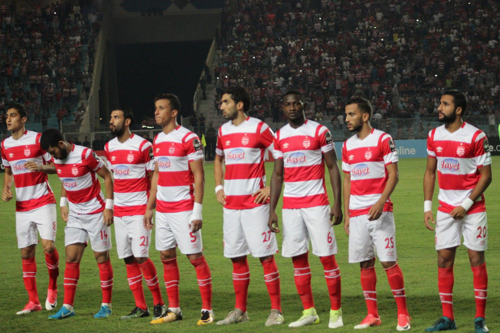 تشكيلة النادي الافريقي أمام نادي حمام الانف