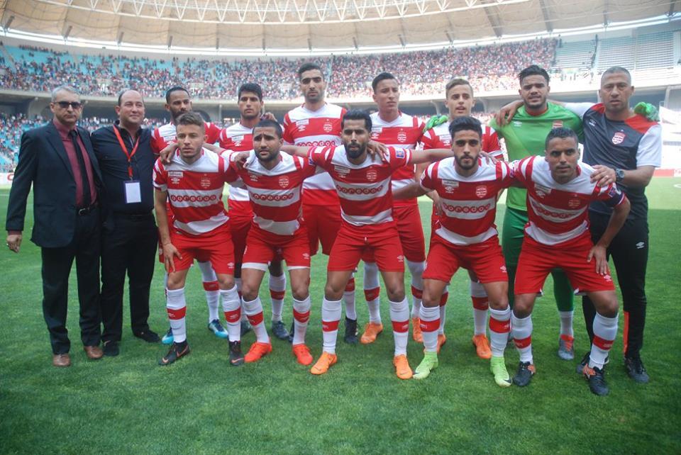 تشكيلة النادي الافريقي أمام الملعب التونسي