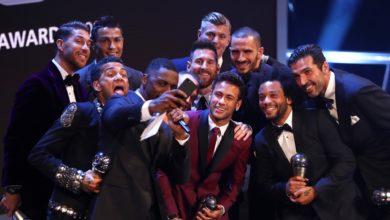 الفيفا جوائز الأفضل